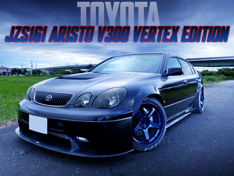 5MT CONVERSION TO JZS161 ARISTO V300 VERTEX ED.