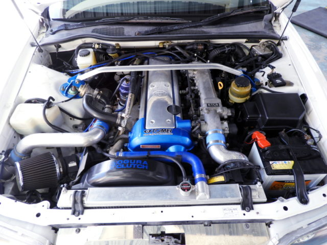 TOMEI TURBOCHARGED 1JZ-GTE ENGINE.