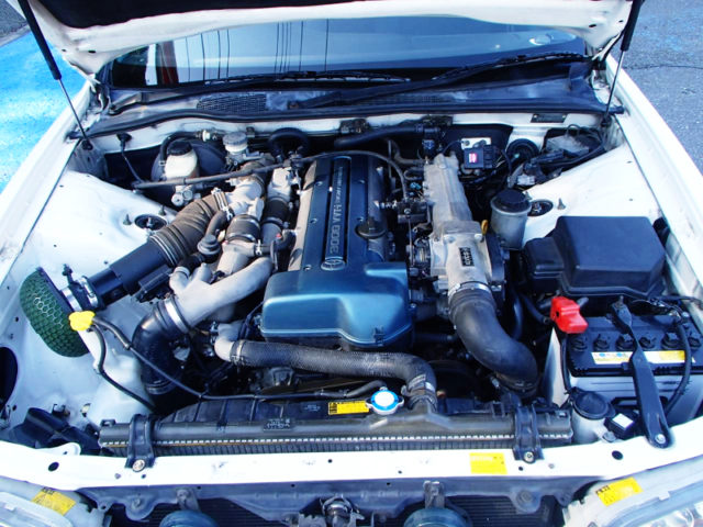 VVTi 2JZ-GTE TWINTURBO ENGINE.