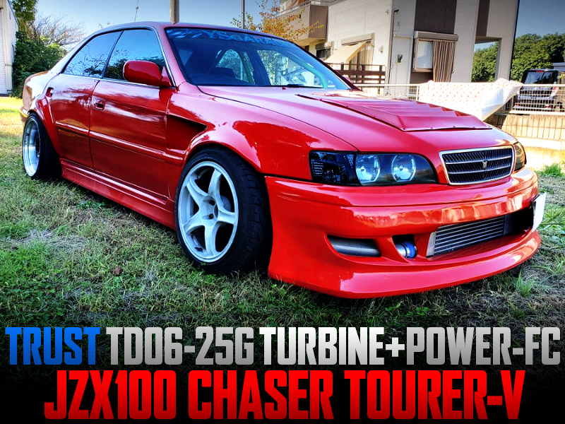 TD06-25G And POWER-FC INTO JZX100 CHASER TOURER-V.