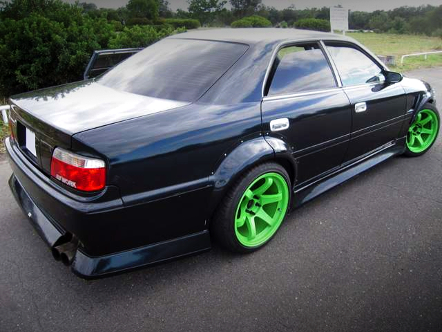 REAR EXTERIOR OF JZX100 CHASER TOURER-V.