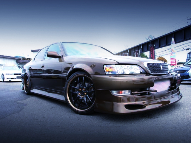 FRONT EXTERIOR OF JZX100 CRESTA ROULANT G.