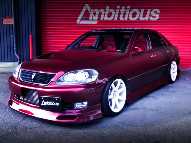 FRONT EXTERIOR OF JZX110 MARK2.