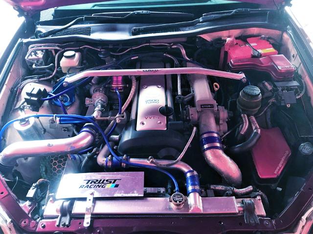 VVTi 1JZ-GTE With HKS GT TURBOCHARGER.