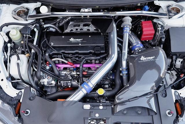 4B11 GT3-RS TURBO ENGINE.