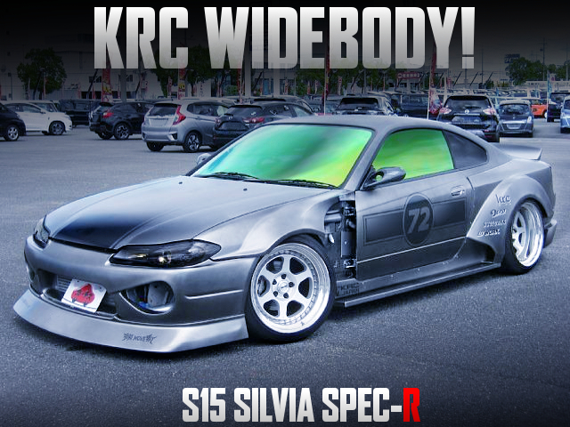 KRC WIDEBODY OF S15 SILVIA SPEC-R GRAY.