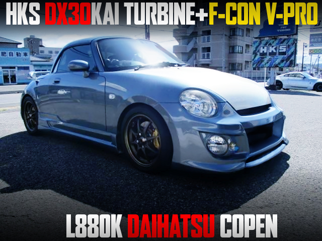 DX30KAI TURBO And F-CON V-PRO INTO L880K COPEN.