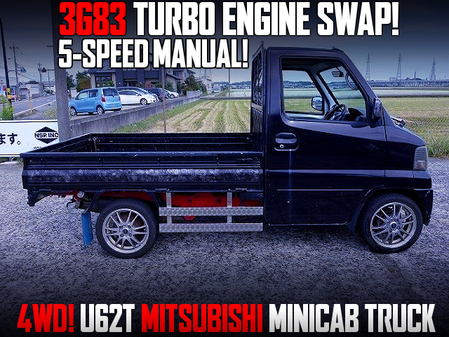 3G83 TURBO SWAP With 5MT INTO U62T MINICAB TRUCK.