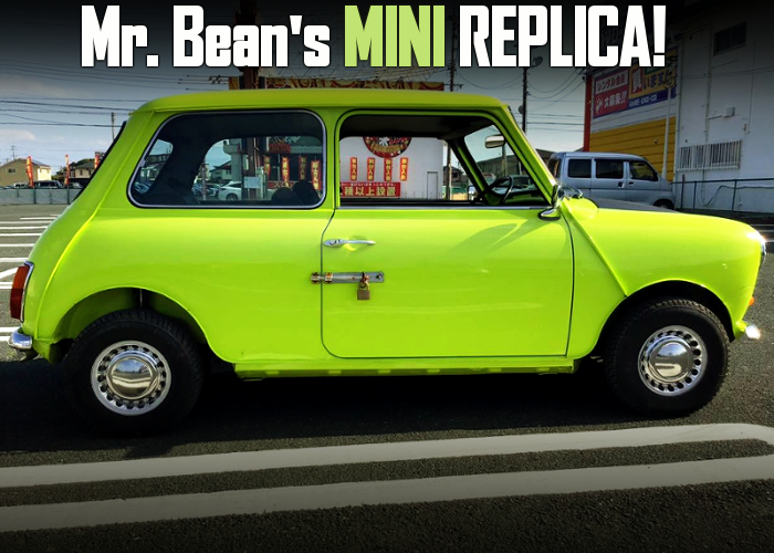 Mr. Bean's MINI REPLICA.