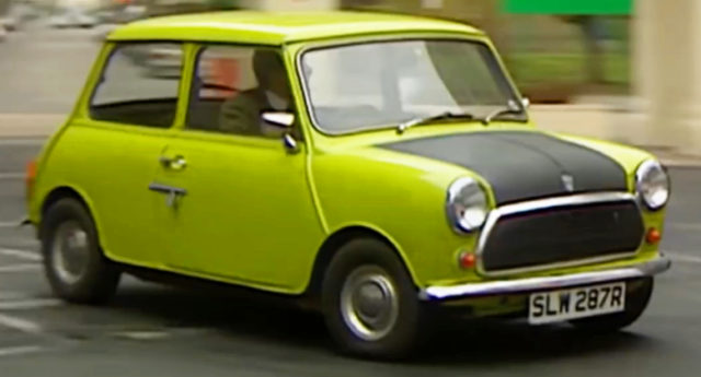 Mr. Bean's CLASSIC MINI.