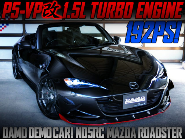 P5-VP With AVO TURBO KIT INTO DAMD ND5RC ROADSTER.