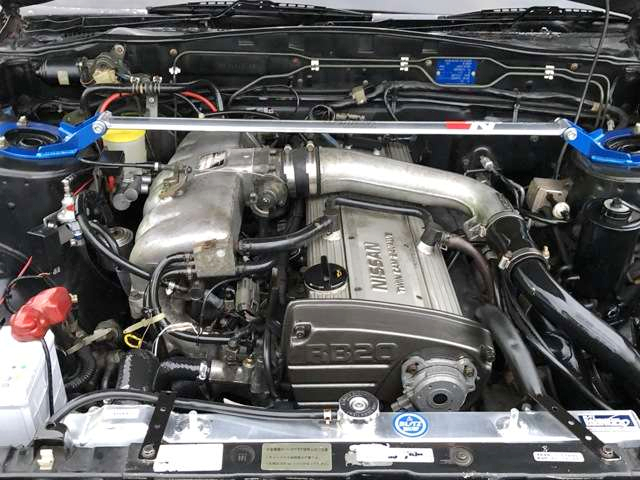 AUTECH RB20DET TURBO ENGINE With GT2530 TURBO.