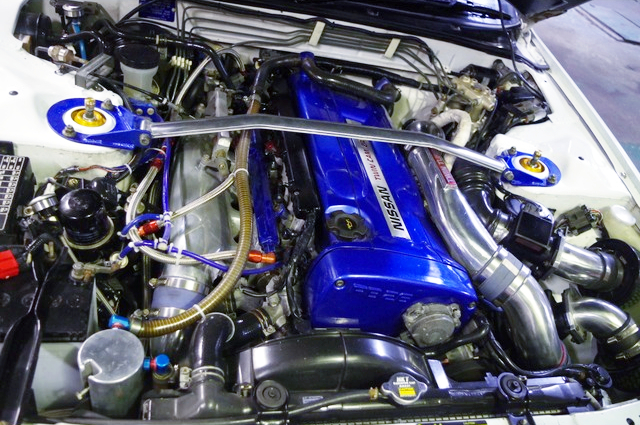 RB26 GT2530 TWINTURBO ENGINE.