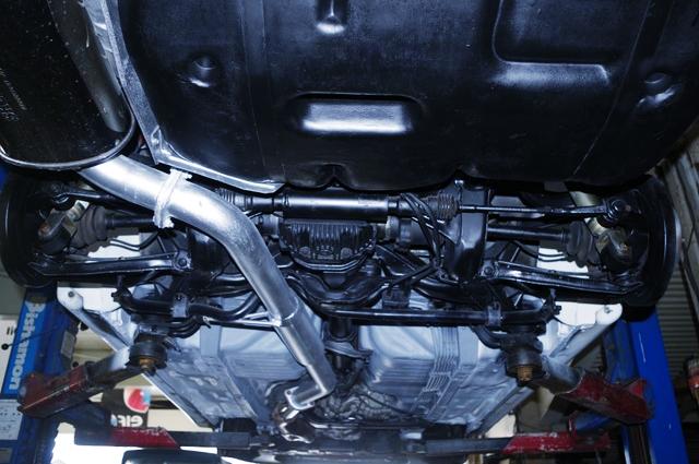 R32 GT-R UNDER BODY.