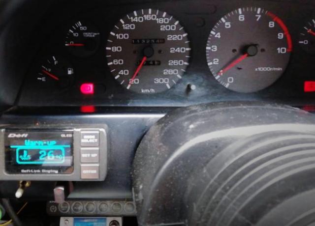 SPEED CLUSTER OF R32 GT-R V-SPEC.