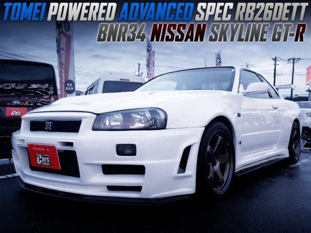 TOMEI-POWERED ADVANCED SPEC RB26DETT INTO R34 GT-R V-SPEC2.