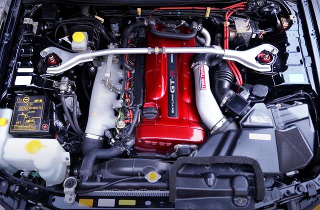RB26 HKS GT3-SS TWINTURBO ENGINE.