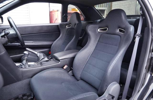 R34 GT-R V-SPEC SEATS.
