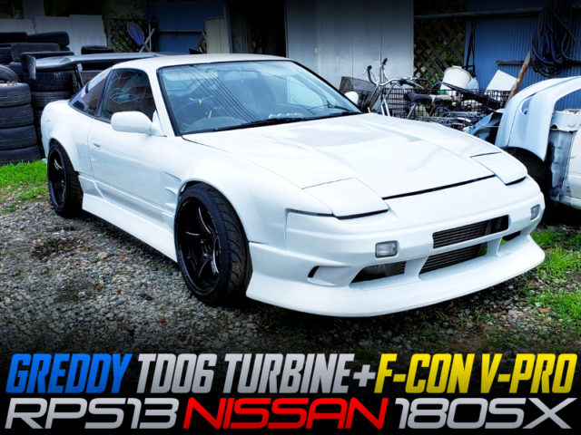 SR20DET With TD06 TURBINE And F-CON V-PRO INTO RPS13 180SX WIDEBODY.
