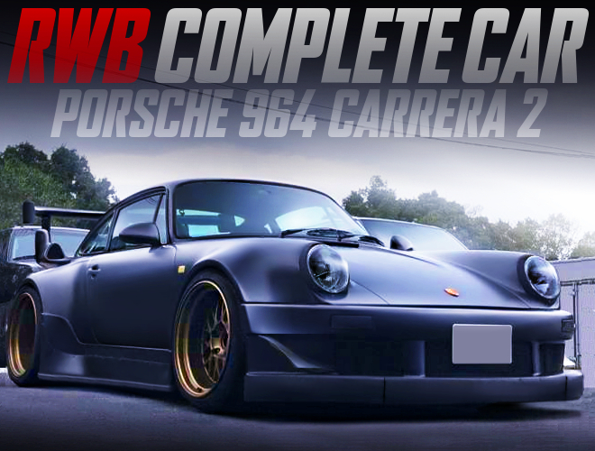 RWB COMPLETE CAR OF PORSCHE 911 CARRERA 2.