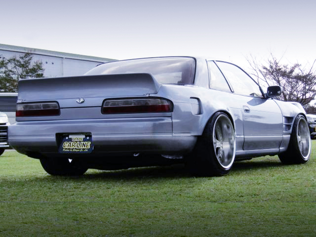 REAR EXTERIOR OF S13 SILVIA Ks TO WIDEBODY.
