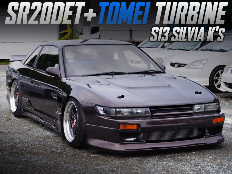 SR20DET With TOMEI TURBINE INTO S13 SILVIA Ks.