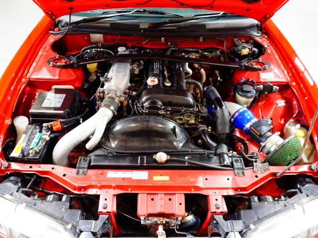 SR20DET TURBO ENGINE With HKS GT2835 TURBOCHARGER.