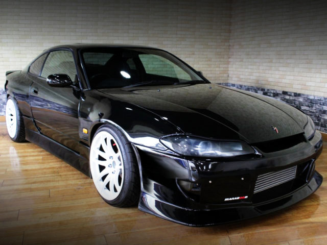 FRONT EXTERIOR OF S15 SILVIA WIDEBODY.