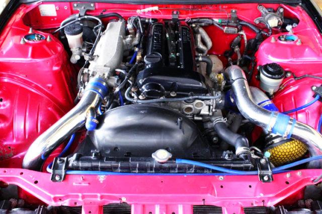 SR20DET GT-SS TURBO ENGINE.