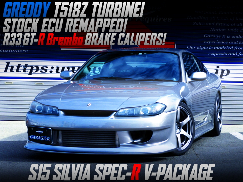 T518Z TURBO AND STOCK ECU REMAPPED With S15 SILVIA SPEC-R V-PKG.