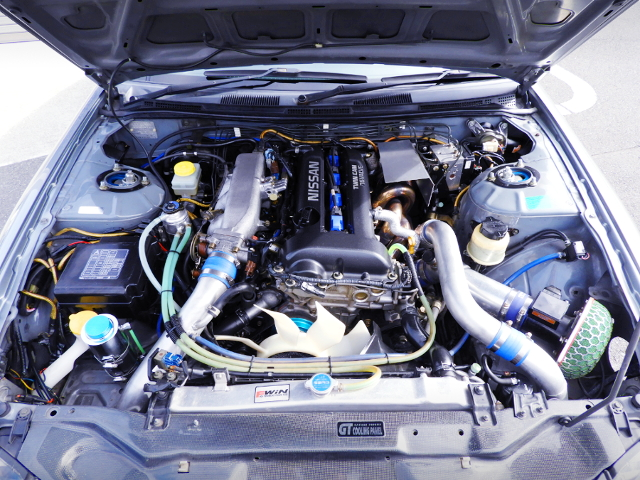 SR20DET T518Z TURBO ENGINE.