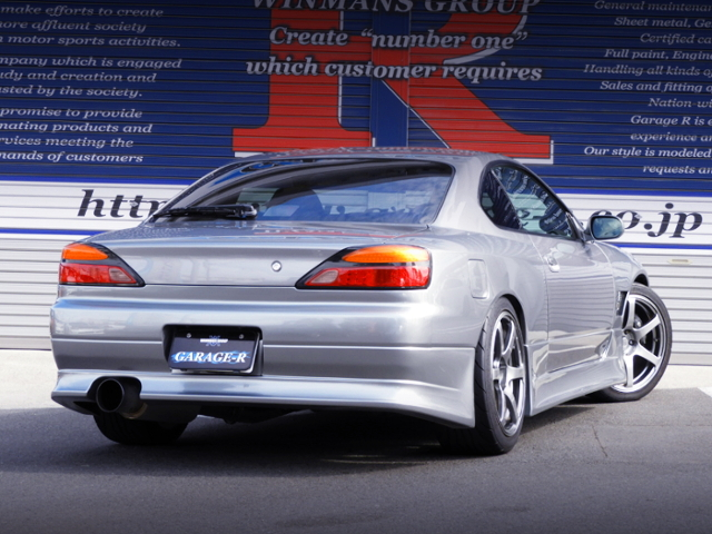 REAR EXTERIOR OF S15 SILVIA SPEC-R V-PKG.