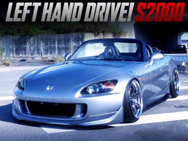 STANCE CUSTOM OF LEFT-HAND DRIVE MODEL TO AP2 S2000.