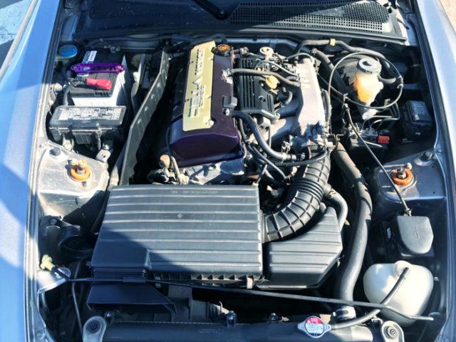 F22C 2.2-liter VTEC ENGINE.