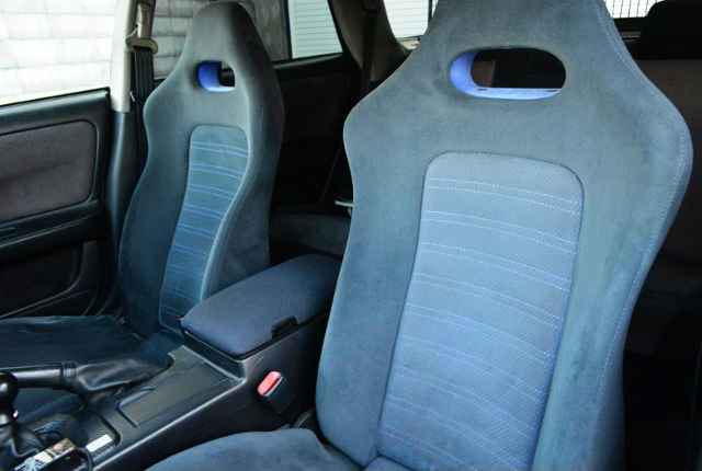 R33 GT-R SEATS CONVERSION.