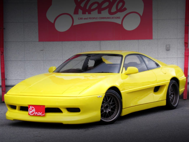 FRONT EXTERIOR OF SW20 MR2 GT-S TO FERRARI STYLE WIDEBODY.