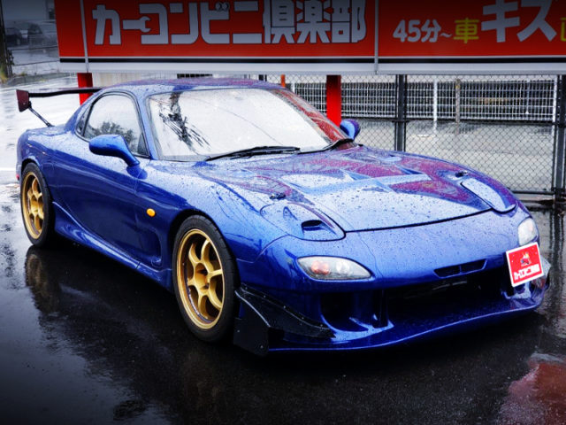 FRONT EXTERIOR OF FD3S RX-7 TYPE-R.