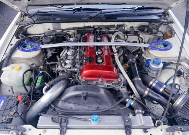 RED TOP SR20DET TURBO With GT-RS TURBOCHERGER.