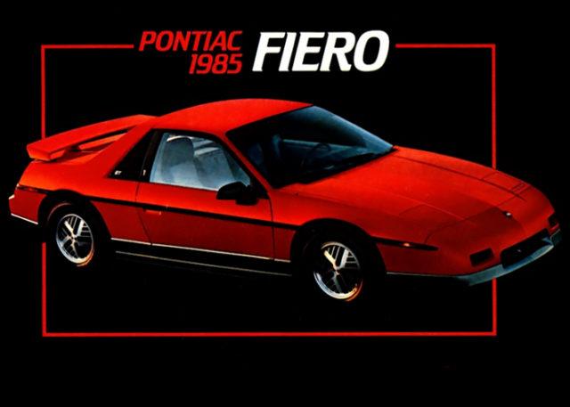 1985 PONTIAC FIERO.
