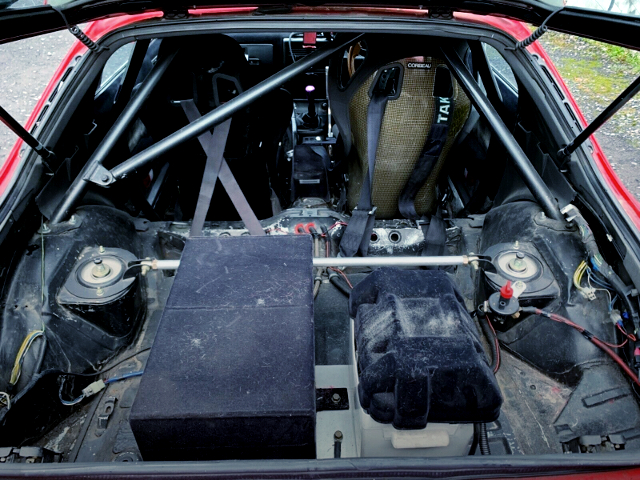 ROLL CAGE AND BATTERY RELOCATION.