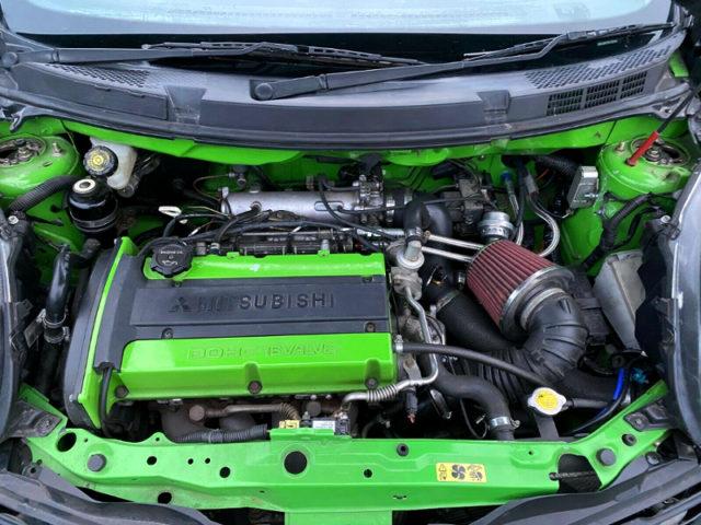 EVO6 4G63 TURBO ENGINE.