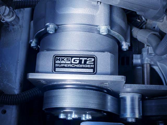 HKS GT2-7040 SUPERCHARGER.