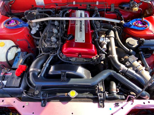 RED-TOP SR20DET TURBO ENGINE.