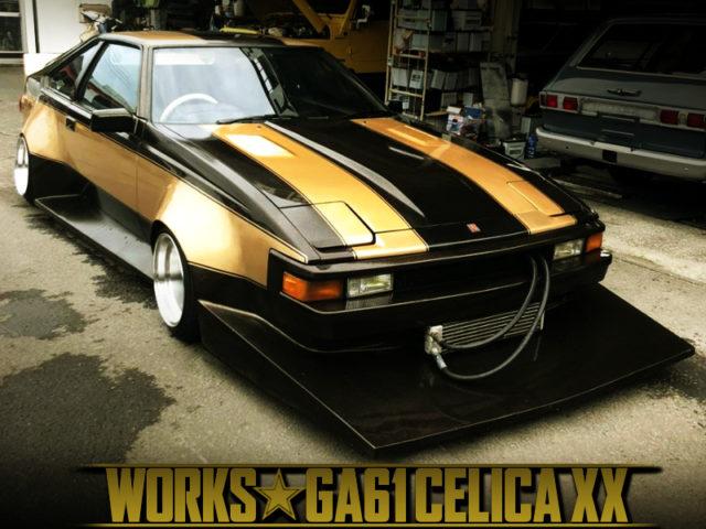 GA61 CELICA XX TO WORKS WIDEBODY.