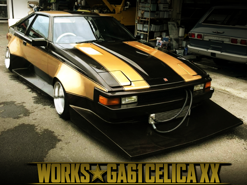 GA61 CELICA XX TO WORKS WIDEBODY.