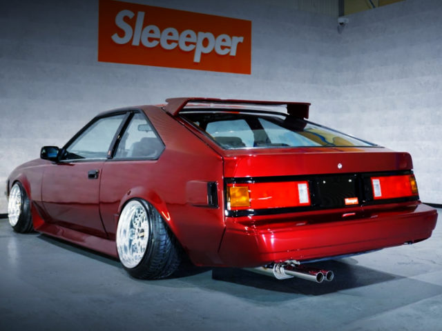 REAR EXTERIOR OF A60 CELICA XX.