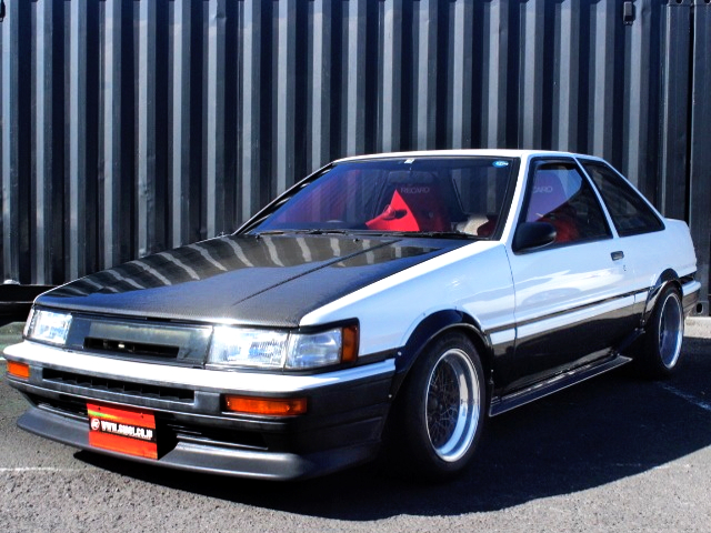 FRONT EXTERIOR TRUENO TO LEVIN FRONT END CONVERSION.
