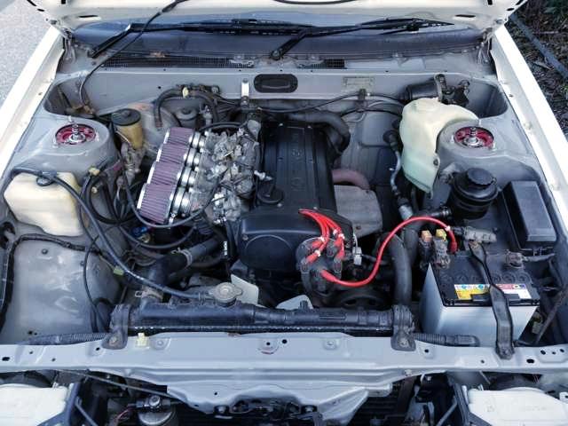 5-VALVE 4AGE 1.6-Liter ENGINE.