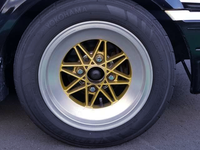 AFTERMARKET ALUM WHEEL.