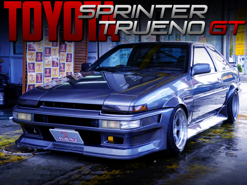 WIDEBODY CUSTOM OF AE86 SPRINTER TRUENO GT.